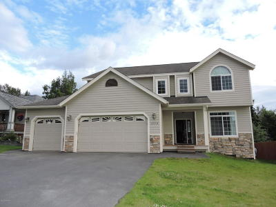 Chugiak, Eagle River Single Family Home For Sale: 17112 Hideaway Ridge Drive