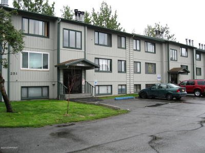 Anchorage, Chugiak, Eagle River Condo/Townhouse For Sale: 251 McCarrey Street #16