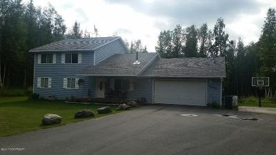 Wasilla Single Family Home For Sale: 7470 W Metcalf Circle