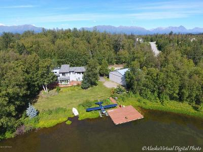 Big Lake, Palmer, Sutton, Wasilla, Willow Single Family Home For Sale: 9550 E Tern Drive