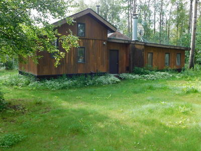 Wasilla Single Family Home For Sale: 3853 S Knik Goose Bay Road