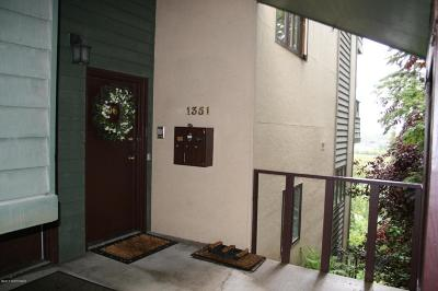 Anchorage Condo/Townhouse For Sale: 1351 Hillcrest Drive #106