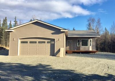 Wasilla Single Family Home For Sale: 3725 N White Hare Circle