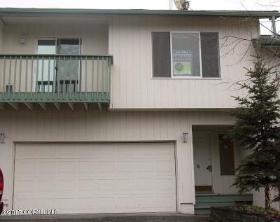 Anchorage Condo/Townhouse For Sale: 275 Creekside #5