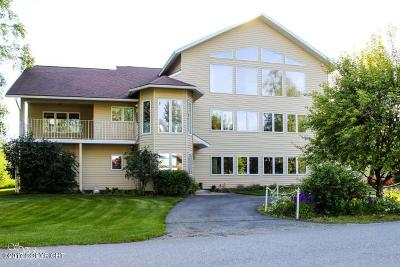 Wasilla Single Family Home For Sale: 800 N Northshore Drive