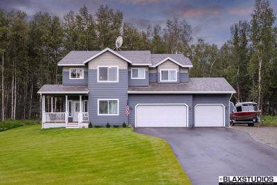 Wasilla Single Family Home For Sale: 4885 N Bedrock Circle