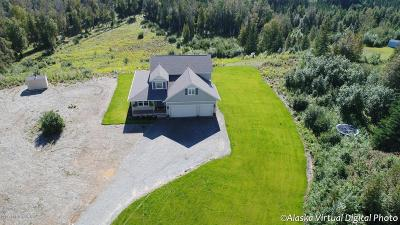Wasilla Single Family Home For Sale: 8448 W O'brien Creek Drive