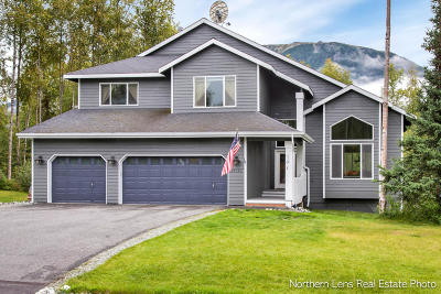 Chugiak Single Family Home For Sale: 23130 Whispering Birch Drive