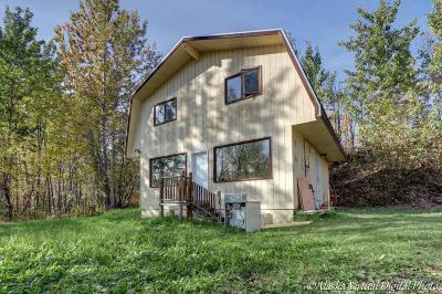 Wasilla Single Family Home For Sale: 750 W Fairview Loop