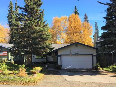 Anchorage Single Family Home For Sale: 6857 Whitehall Street