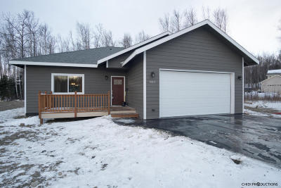 Wasilla Single Family Home For Sale: 4412 S Ivan Circle