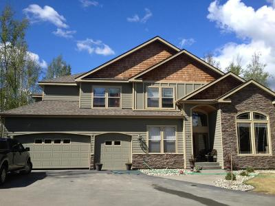 Wasilla Single Family Home For Sale: 3915 S Upper Meadow Circle