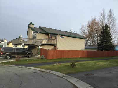 Anchorage Single Family Home For Sale: 8151 Queen Victoria Drive