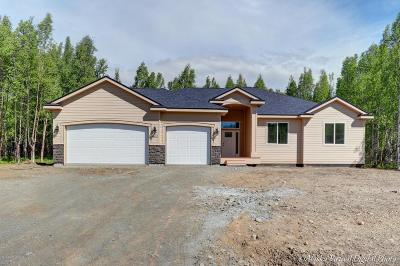 Wasilla Single Family Home For Sale: 8652 E Wolf Creek Road