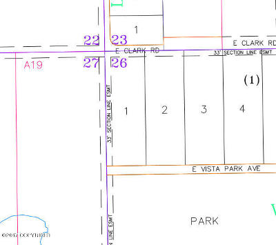 Palmer Residential Lots & Land For Sale: 15600 Clark Road