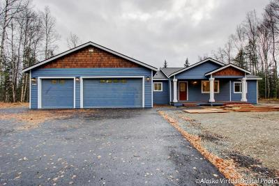 Wasilla Single Family Home For Sale: 7671 S Settlers Bay Drive