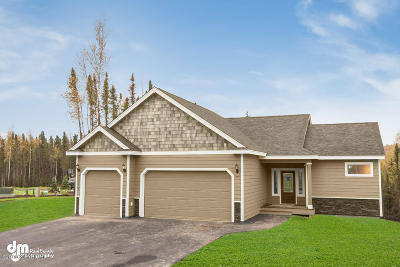 Eagle River Single Family Home For Sale: Lot 23 Akers Circle