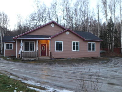 Wasilla Single Family Home For Sale: 4640 S Captains Circle