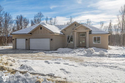 Wasilla Single Family Home For Sale: 1200 W Gail Drive