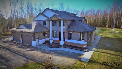 Wasilla Single Family Home For Sale: 3350 S Edelweiss Drive