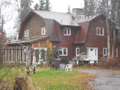 Soldotna Single Family Home For Sale: 44888 Eddy Hill Drive