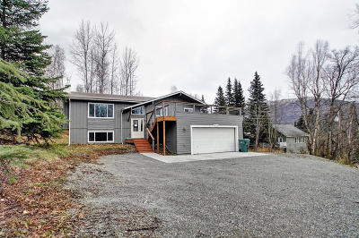 Eagle River Single Family Home For Sale: 19108 Whirlaway Road