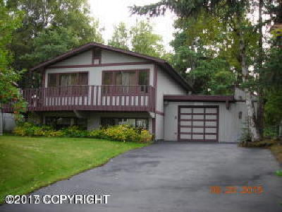 Anchorage Single Family Home For Sale: 12901 Gail Street
