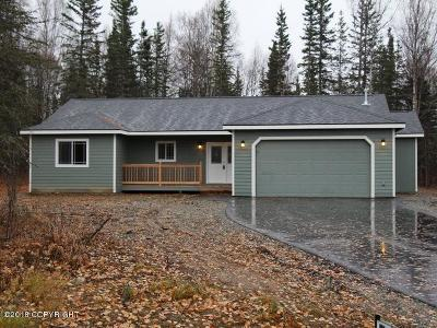 Wasilla Single Family Home For Sale: L1 B2 W Gold Bar Road