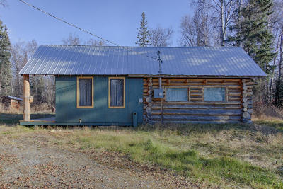 Trapper Creek AK Single Family Home For Sale: $106,000