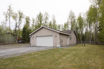 Wasilla Single Family Home For Sale: 7040 W Vandenberg Drive
