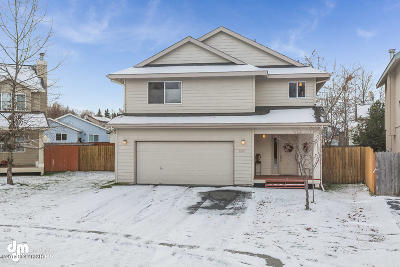 Anchorage Single Family Home For Sale: 1910 Powder Horn Circle