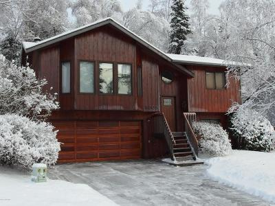 Eagle River Single Family Home For Sale: 8809 Dome Circle