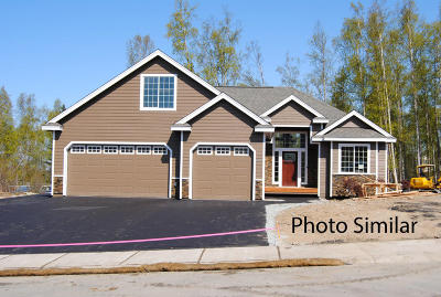 Wasilla Single Family Home For Sale: 2610 W Angela Drive
