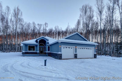 Wasilla Single Family Home For Sale: 4751 W Monument Circle