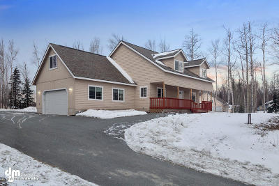 Wasilla Single Family Home For Sale: 3026 N Intuition Circle