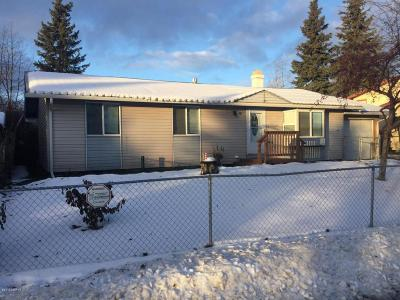 Anchorage Single Family Home For Sale: 1726 Dolina Circle