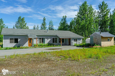 Wasilla Single Family Home For Sale: 1439 S Ethels Circle