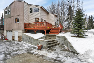 Chugiak Single Family Home For Sale: 24236 Hearthstone Drive
