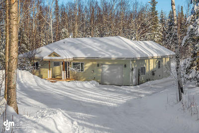 Wasilla Single Family Home For Sale: 6908 W Gangplank Drive