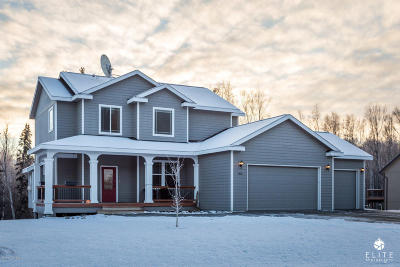Wasilla AK Single Family Home For Sale: $438,000