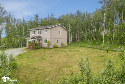 Wasilla Single Family Home For Sale: 4890 W Northern Rose Lane