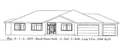 Single Family Home For Sale: Lot 4 Potter Highlands Drive