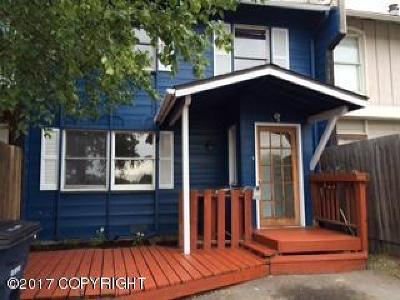 Anchorage Single Family Home For Sale: 1051 E 17th Avenue