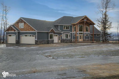 Wasilla Single Family Home For Sale: 7143 S Hayfield Road