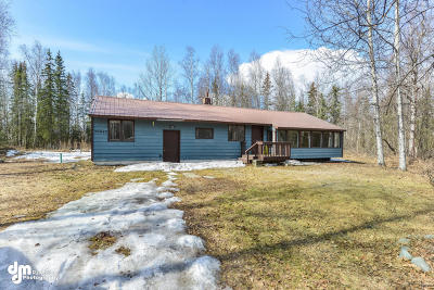 Chugiak Single Family Home For Sale: 20840 Crabtree Street