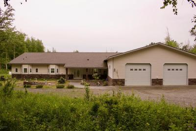 Wasilla Single Family Home For Sale: 5690 E Hart Lake Loop