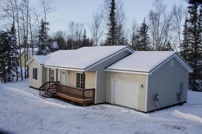 Anchorage, Chugiak, Eagle River, Palmer, Wasilla Single Family Home For Sale: 10494 W Glacier Peak Drive