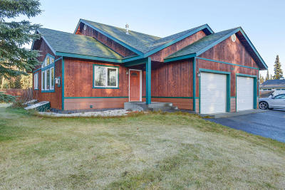 Kenai Single Family Home For Sale: 1012 Channel Way