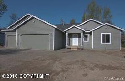 Wasilla Single Family Home For Sale: 7583 S Settlers Bay Drive