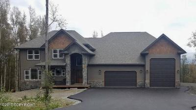 Wasilla Single Family Home For Sale: 4690 W Yundt Drive